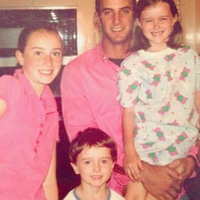 The time Dustin Johnson stayed with my family