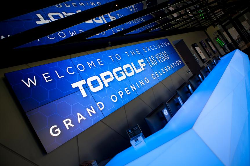 Come with us as we party at Topgolf Las Vegas