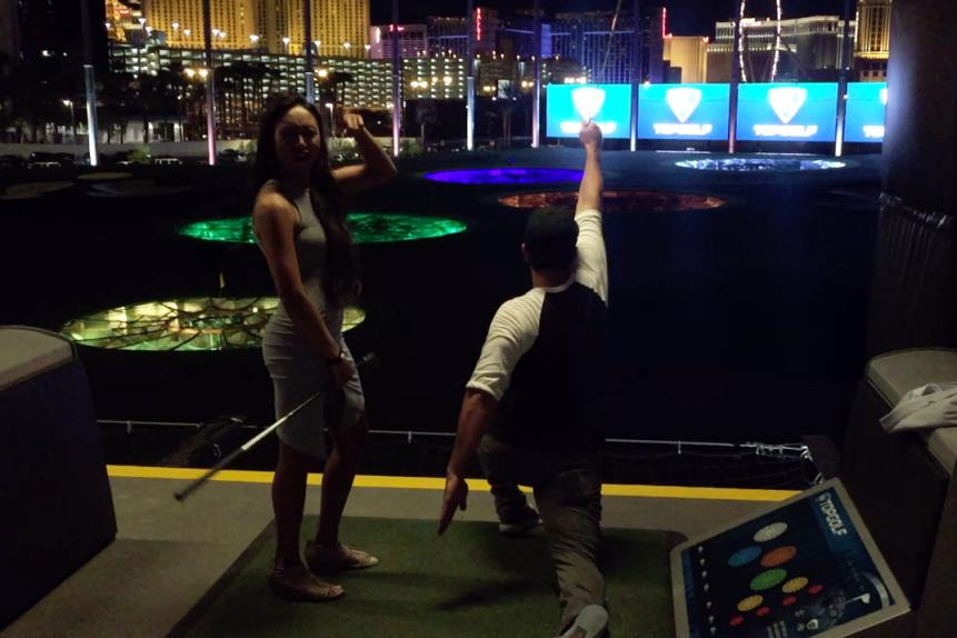 A party at Topgolf reminds you to take golf a little less seriously.