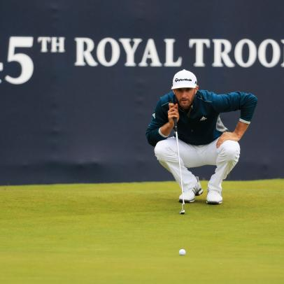 Dustin Johnson shows us he's not invincible, but finishes strong Friday at the British Open