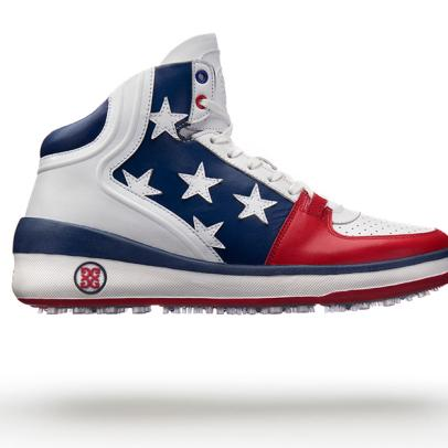 Bubba Watson's Olympic shoes are as patriotic as you can get