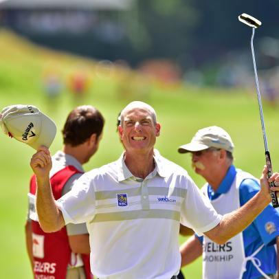 7 incredible facts about Jim Furyk's record-breaking 58 at the Travelers Championship