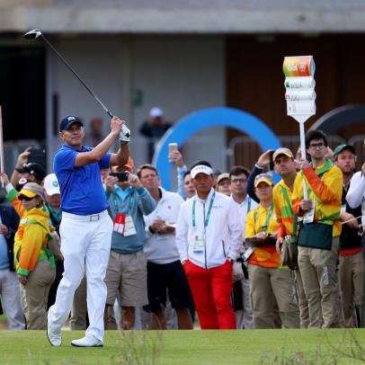 Golf in the Olympics finally resumes 112 years later, tears shed