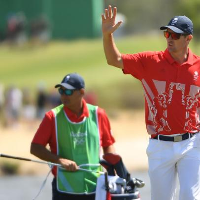 Let's have a look at the medal scenarios in the Olympic golf competition