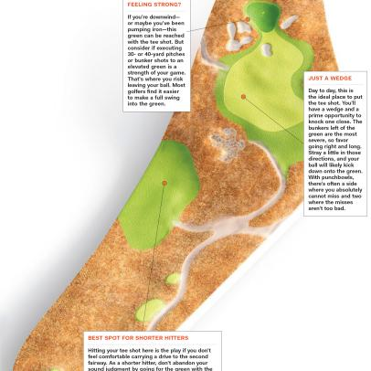 Jack Nicklaus: A Bowl-Shape Green Serves Several Options