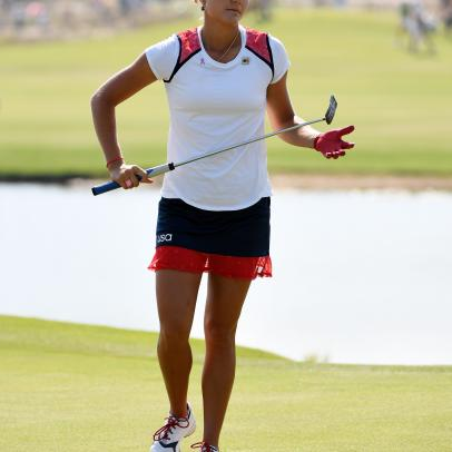 Olympic Style From The Women's Golf Competition