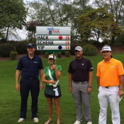 The Web.com Tour featured the best, most frightful group on Sunday