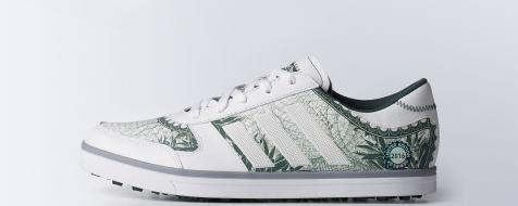 Adidas releases FedEx Cup-inspired shoes with money signs all over