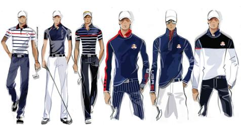 A first look at the U.S. Ryder Cup outfits