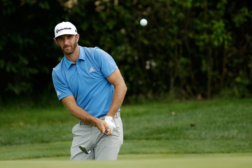 No. 1 -- Dustin Johnson