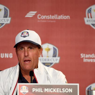 Phil Mickelson says team vibe is better this time, manages to criticize Tom Watson and Hal Sutton as captains