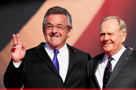 Ryder Cup opening ceremonies' usual excess saved by legends, Jack Nicklaus and Tony Jacklin