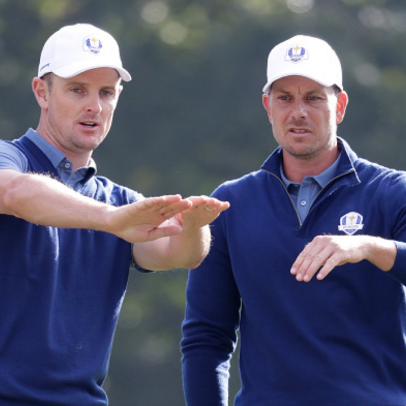Ryder Cup Pairings: Darren Clarke breaks up Henrik Stenson and Justin Rose for Saturday's foursomes