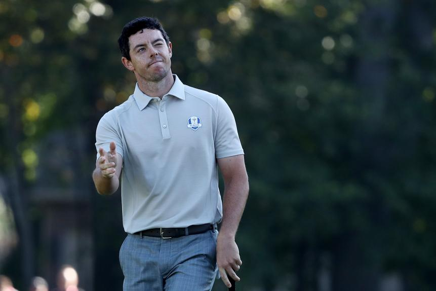 Rory McIlroy -- 125 Yards And In