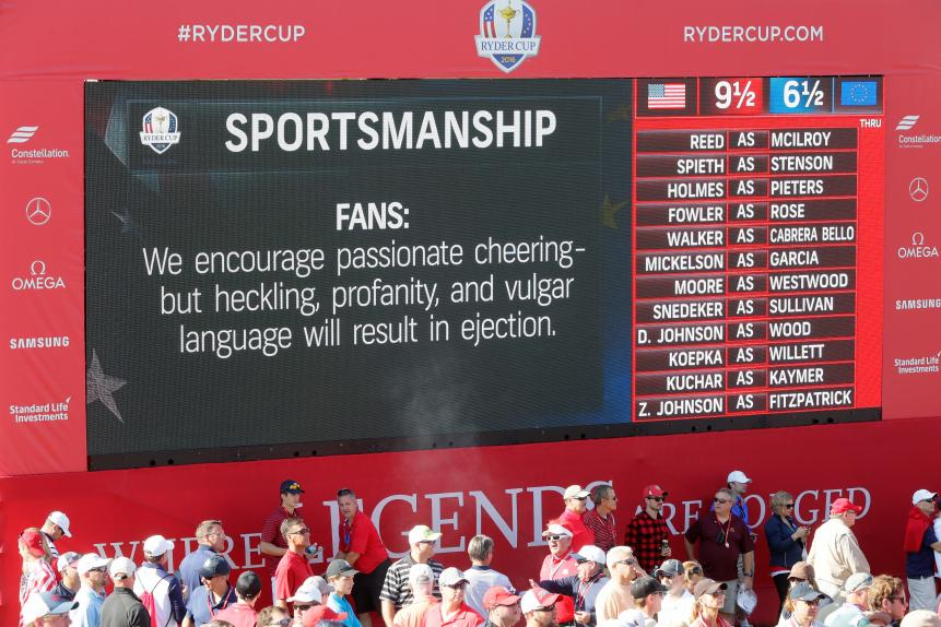 Do you think the 2016 Hazeltine crowd was overtly antagonistic and hostile?