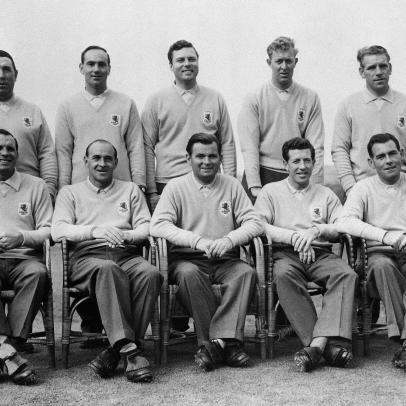 Throwback Thursday: Will it be a repeat of 1957 for the American Ryder Cup team?