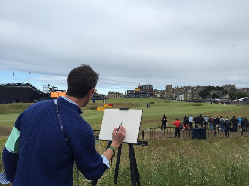 Lee-Wybranski-painting-at-St-Andrews-poster.jpg