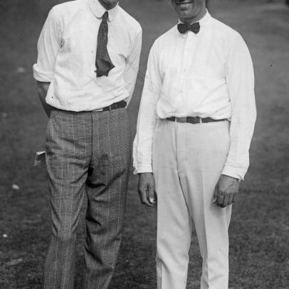 A century ago, the PGA Championship got off to a tense, tight start