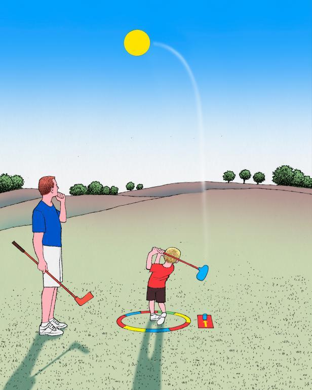 How to Raise a Golfer