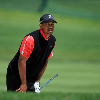 One area where Tiger Woods fails to stack up with golf's all-time greats