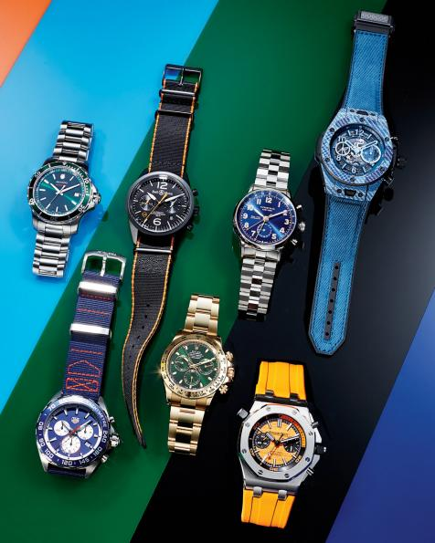 Add Some Pop To Your Wrist With These Vibrant Watches