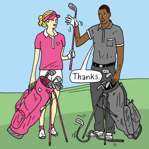 Equipment: Oversized ball markers, non-conforming clubs, and when it's OK to borrow