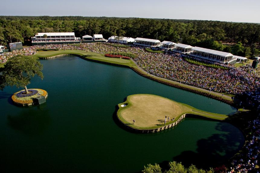 Sawgrass' Wacky Saturday Set-Up
