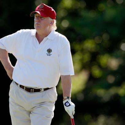 Donald Trump tops ranking of golfing presidents