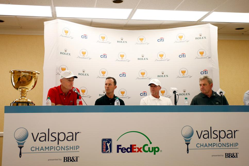 Presidents Cup Captain's Press Conference