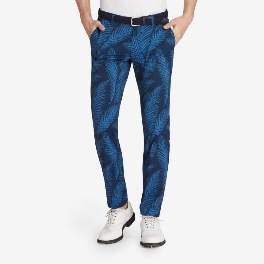 Bonobos' Classic Performance Golf Pant ($128) is a fun way to add pizzaz to your outfit. This print is also available in shorts ($98) and as a polo ($88).