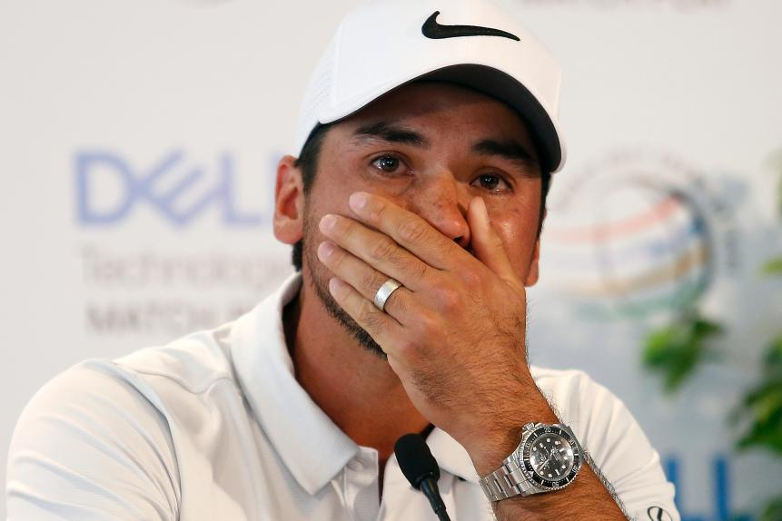 What's up with Jason Day?