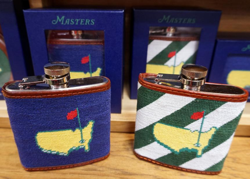 Needlepoint flasksAre these the classiest flasks you've ever seen? Probably. ($70)