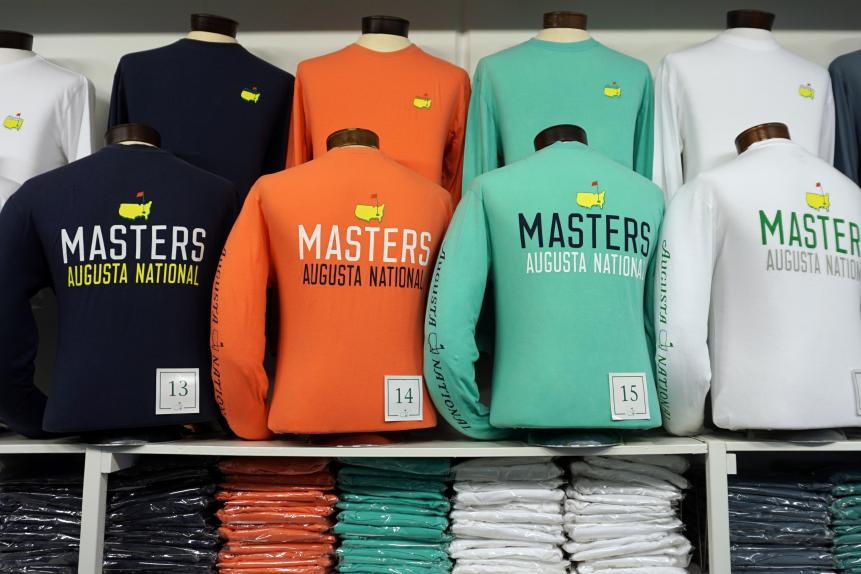 Long-sleeve t-shirtsThere are three things about this long-sleeve shirt ($45) that make us love it: the front of it is clean, with just a Masters logo;