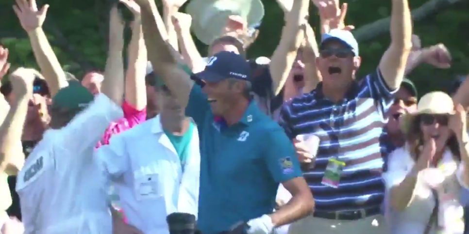 Matt Kuchar hole-in-one Masters 2017