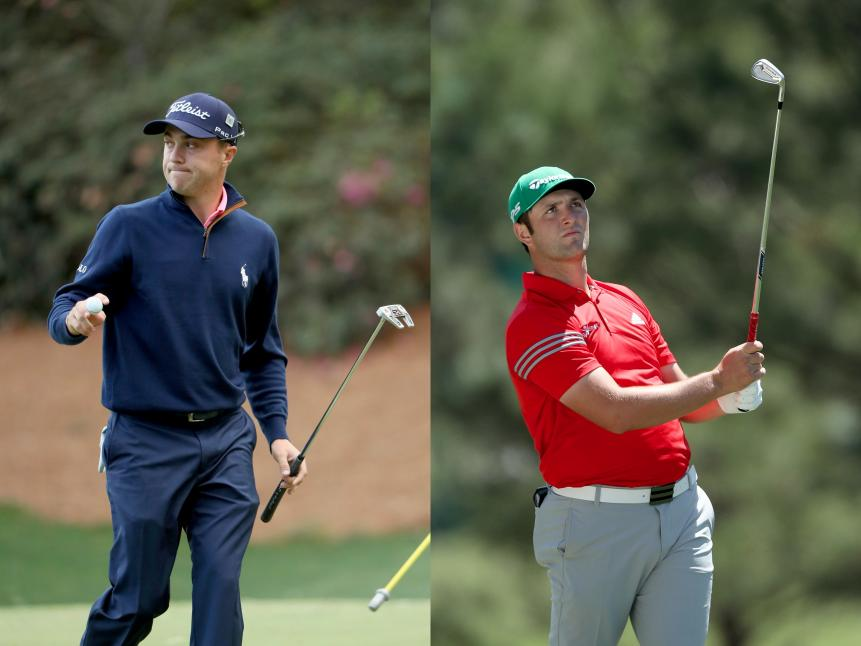 EXCLUDED: Justin Thomas, Jon Rahm