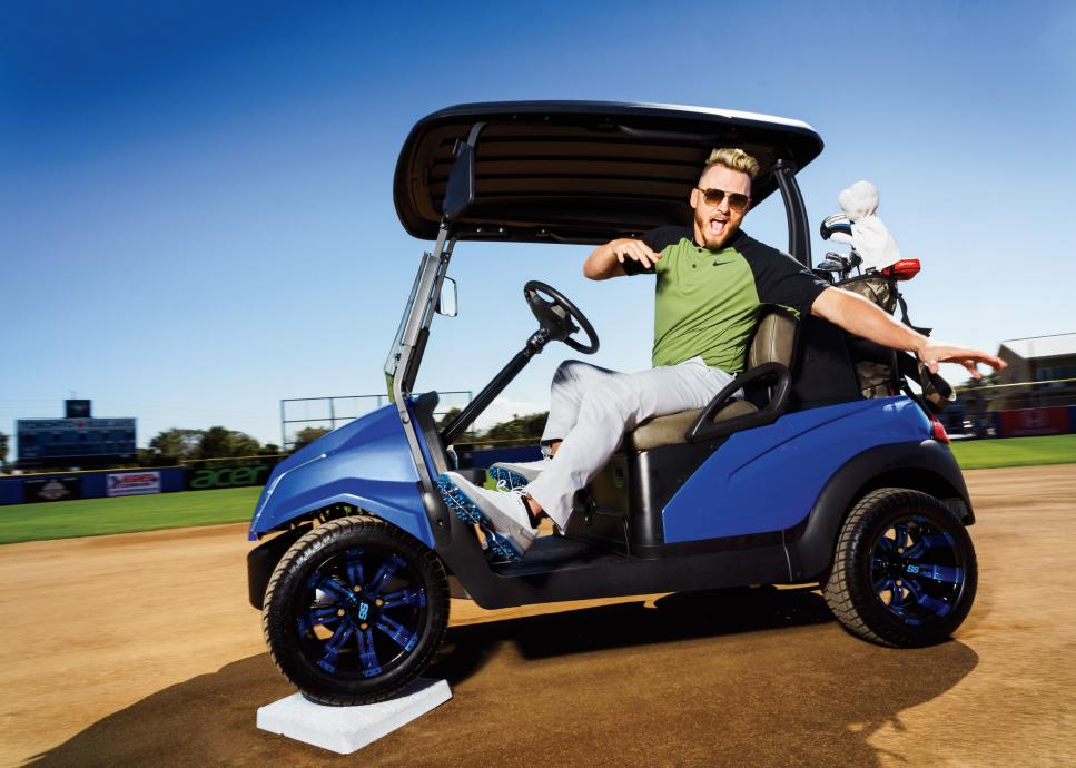 Josh Donaldson Toronto Blue Jays golf spring training