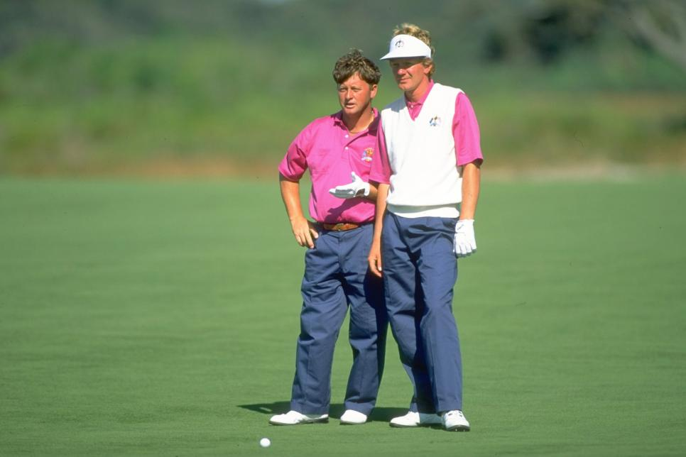 Ian Woosnam and Paul Broadhurst