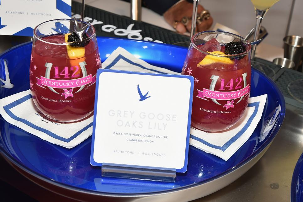 The GREY GOOSE Lounge at the 142nd Running Of The Kentucky Derby