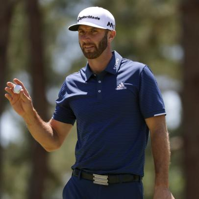 Dustin Johnson's style secret