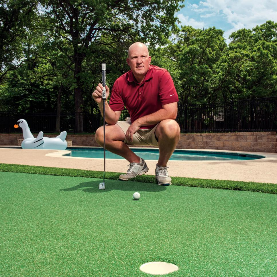 Do It Yourself Golf Putting Greens, Build Putting Green In Garden