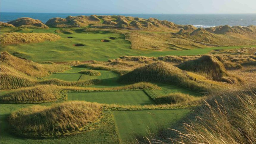 Trump International G. Links, Scotland, Aberdeenshire (54th in our last World 100 rankings)