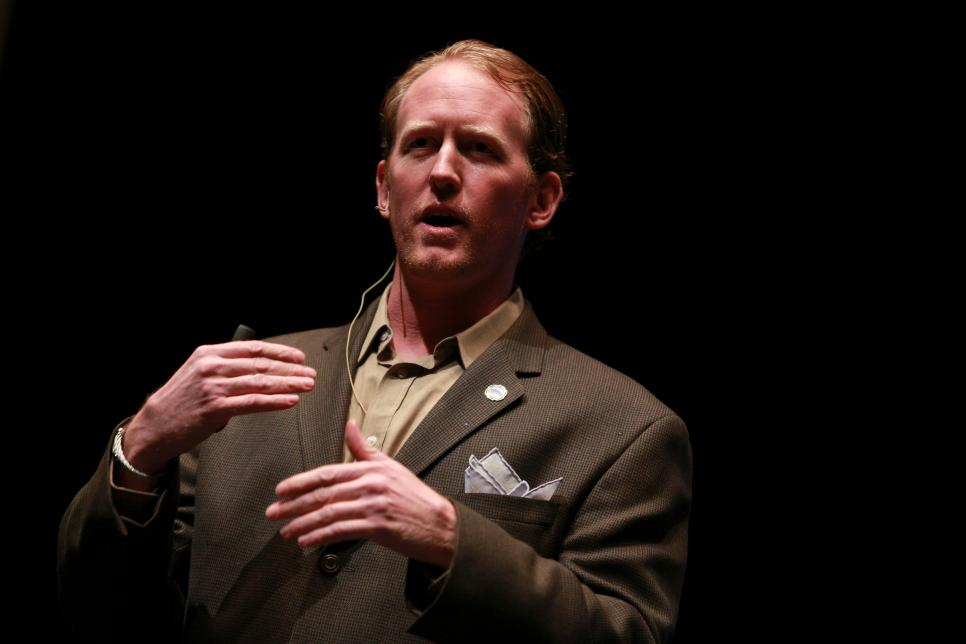 Former Navy SEAL Rob O'Neill Who Killed Osama bin Laden Speaks At Chamber of Commerce