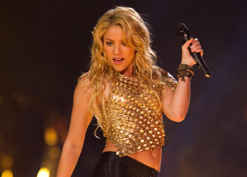 Shakira Performs At The Honda Center