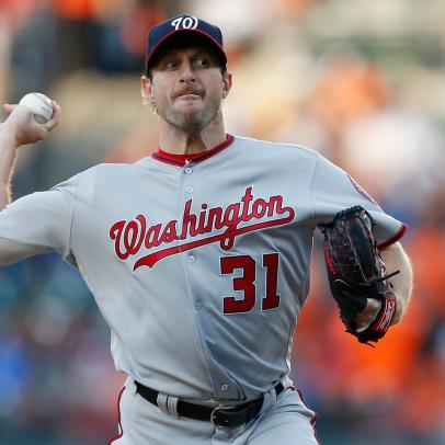Max Scherzer is a crazy person who throws baseballs at people for a living