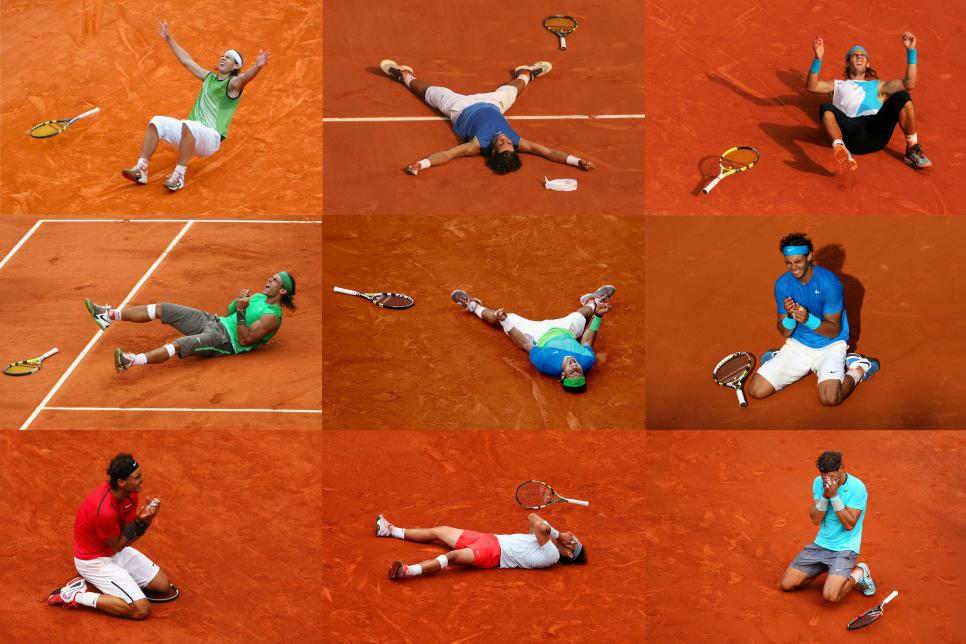 FILE: Rafael Nadal King Of Clay