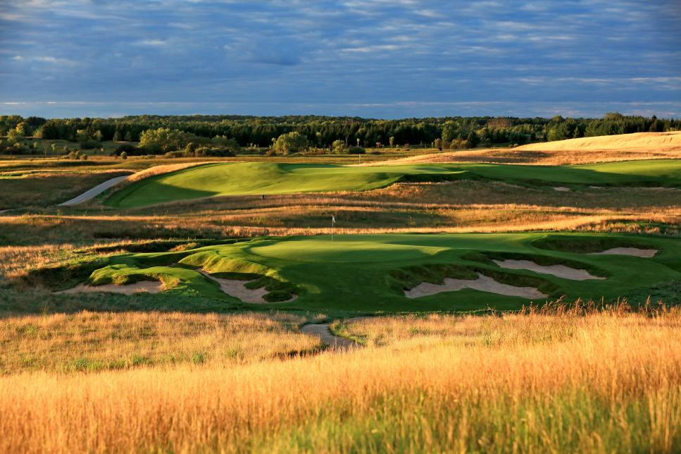 General Views of Erin Hills Golf Course venue for 2017 US Open Championship
