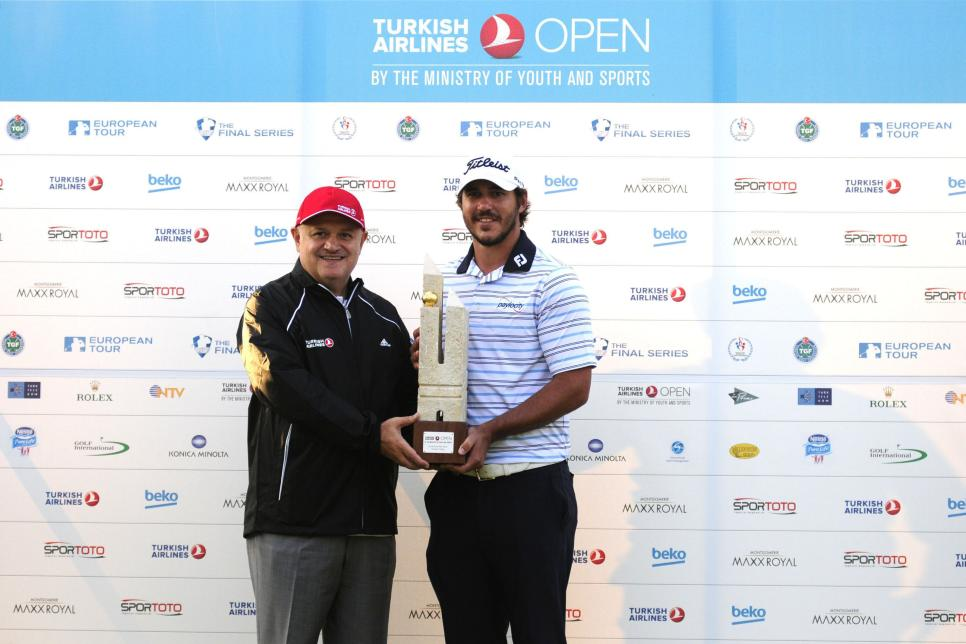 Turkish Airlines Open 2014 - Day4