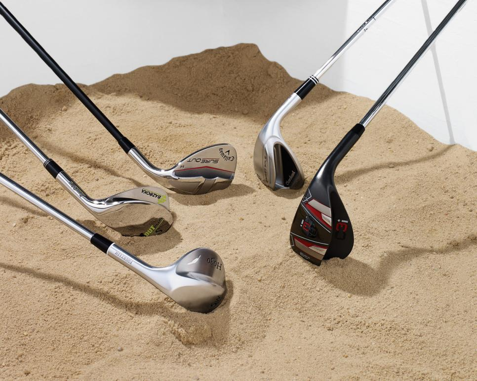 Five Wedges To Help You Hit Better Sand