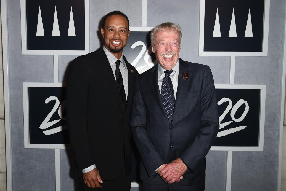 Tiger Woods Foundation's 20th Anniversary Celebration at the New York Public Library - Arrivals