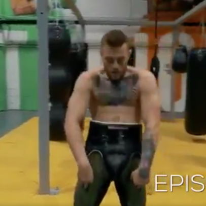 Conor McGregor's unintentionally comical training video, and the biggest non-story story about LeBron James
